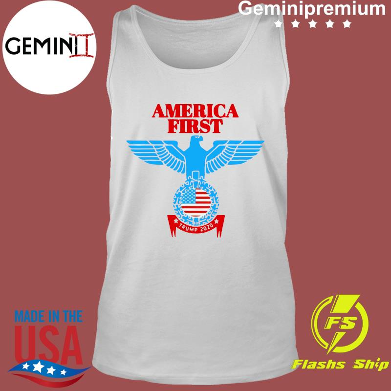 Official America First Eagle Trump 2020 Shirt Tank Top