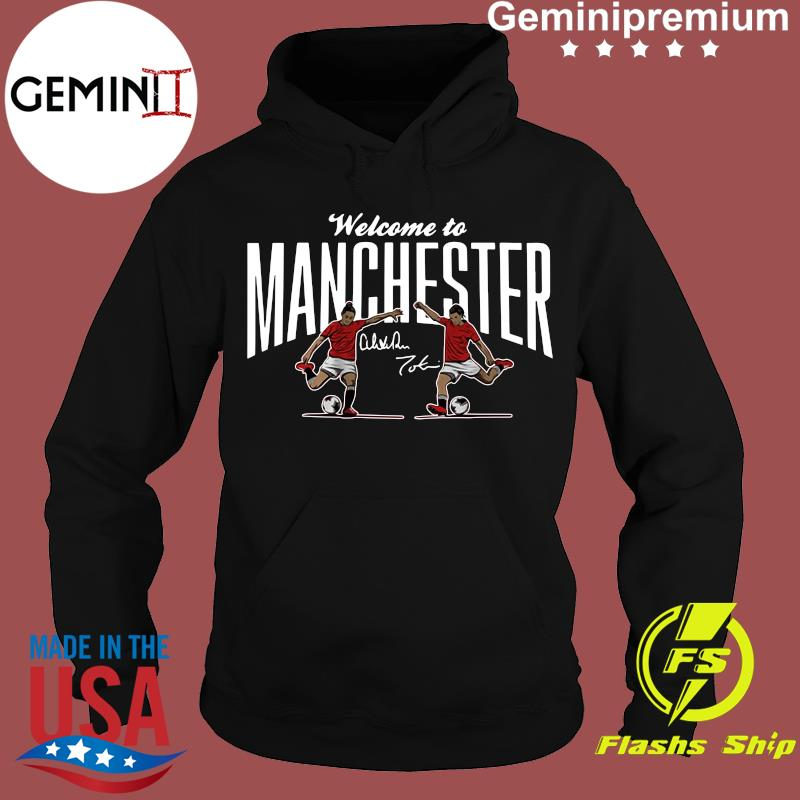Heath & Press Welcome to Manchester USWNTPA Shirt Hoodie