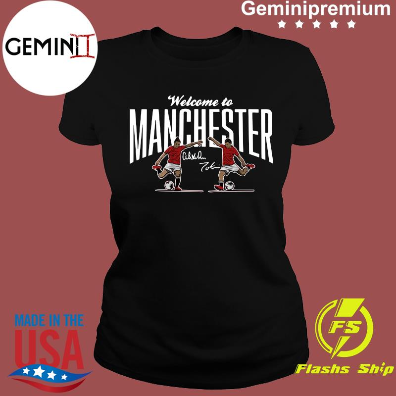 Heath & Press Welcome to Manchester USWNTPA Shirt Ladies tee