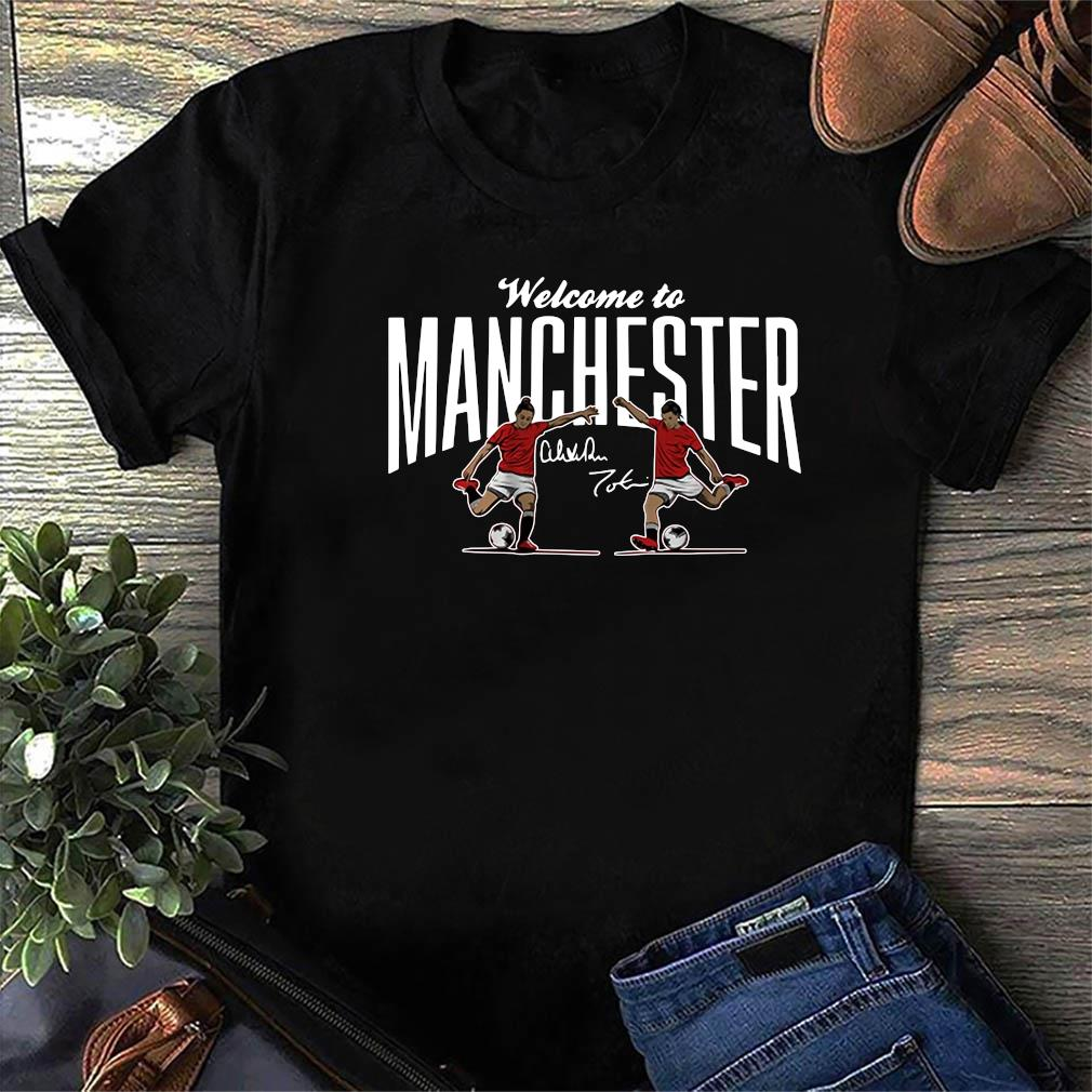 Heath & Press Welcome to Manchester USWNTPA Shirt