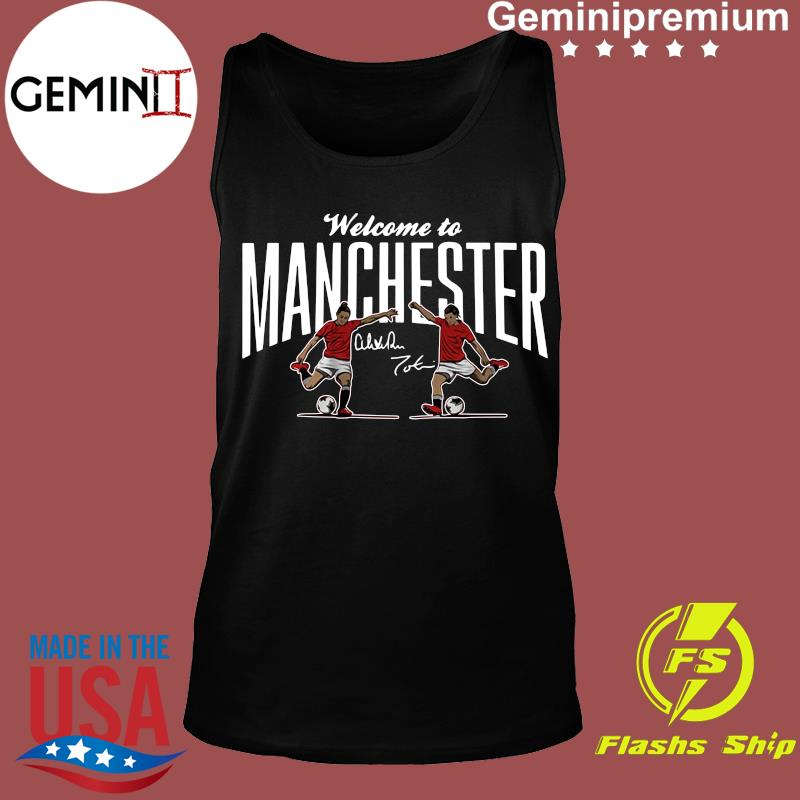Heath & Press Welcome to Manchester USWNTPA Shirt Tank top