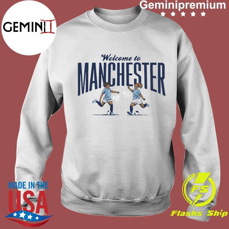 Lavelle & Mewis Welcome to Manchester Official T-Shirt Sweater