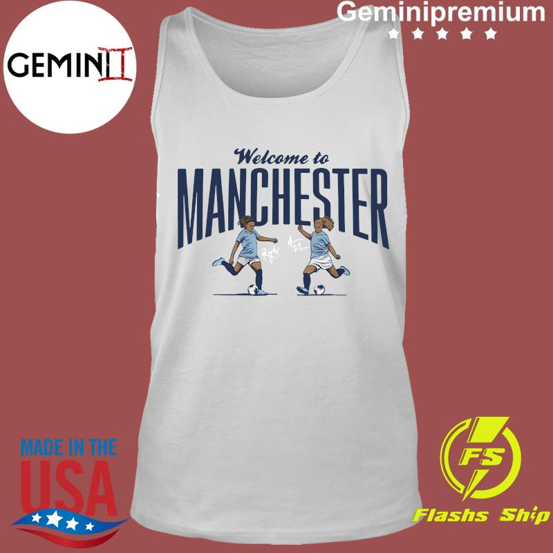 Lavelle & Mewis Welcome to Manchester Official T-Shirt Tank Top