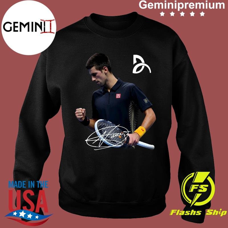 Novak Djokovic Signature Shirt Usa Trending Store