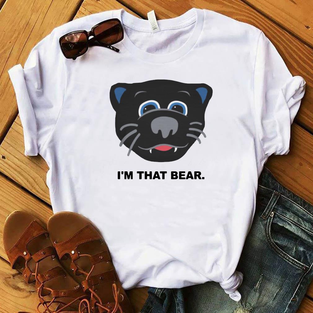 Official Carolina Panthers I'm That Bear Shirt