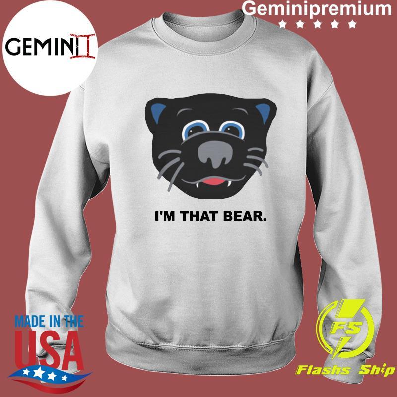 Official Carolina Panthers I'm That Bear Shirt Sweater