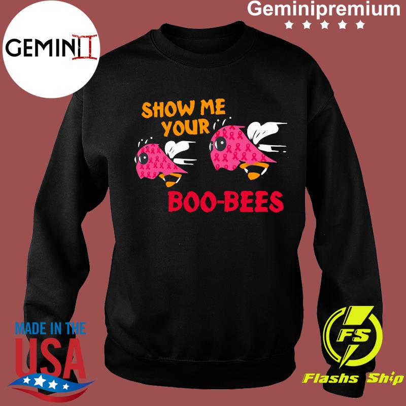 Show Me Your Boo Bees Ghost Halloween Shirt Sweater