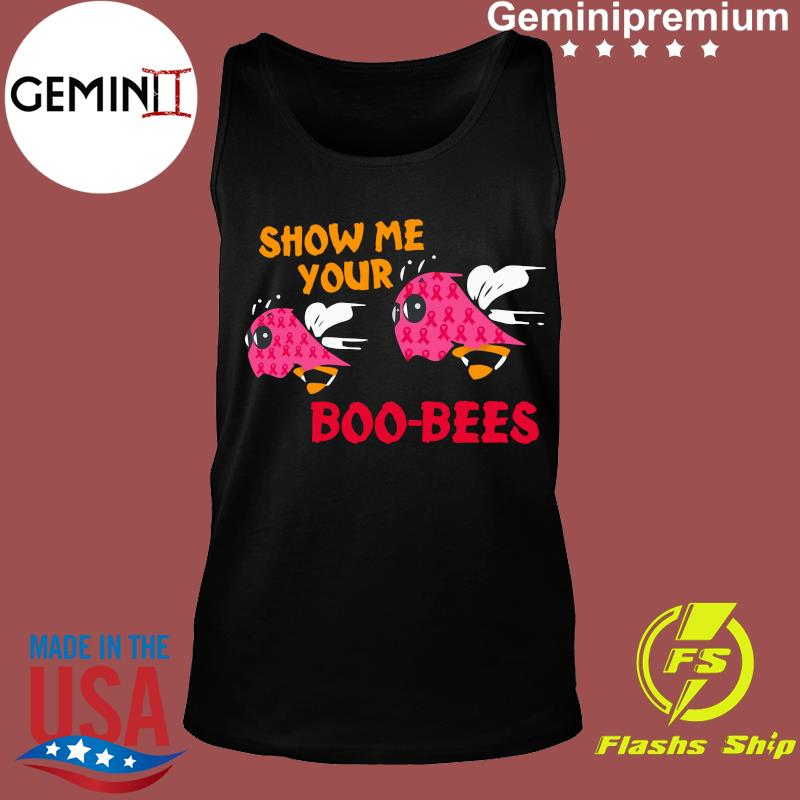 Show Me Your Boo Bees Ghost Halloween Shirt Tank top