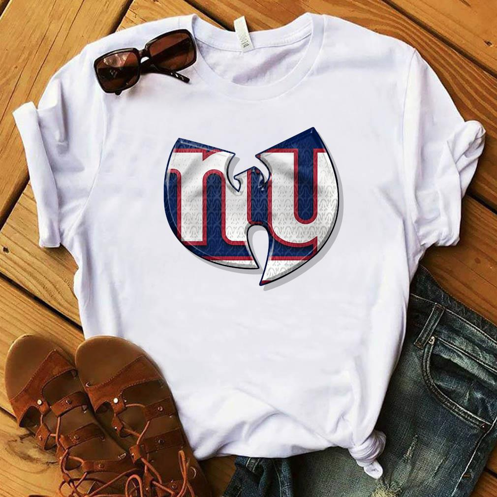 Wu-tang New York Giants Shirt