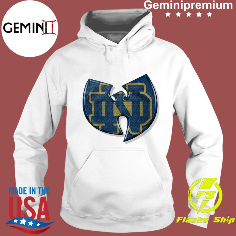 Wu Tang Notre Dame Fighting Irish Shirt Hoodie