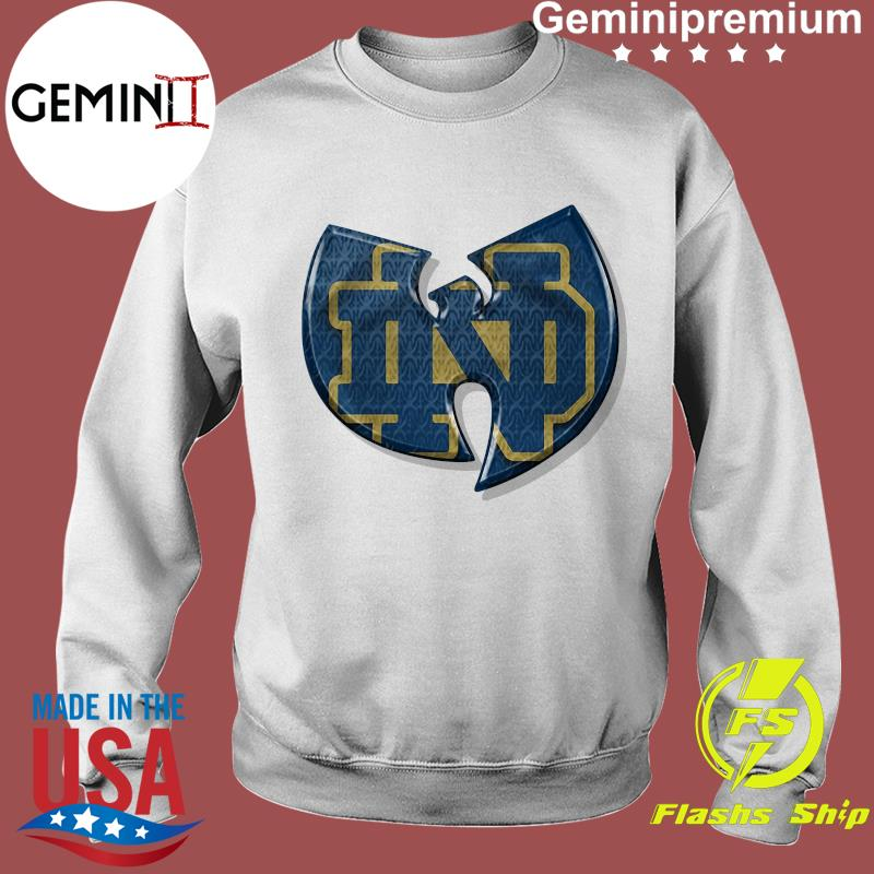 Wu Tang Notre Dame Fighting Irish Shirt Sweater