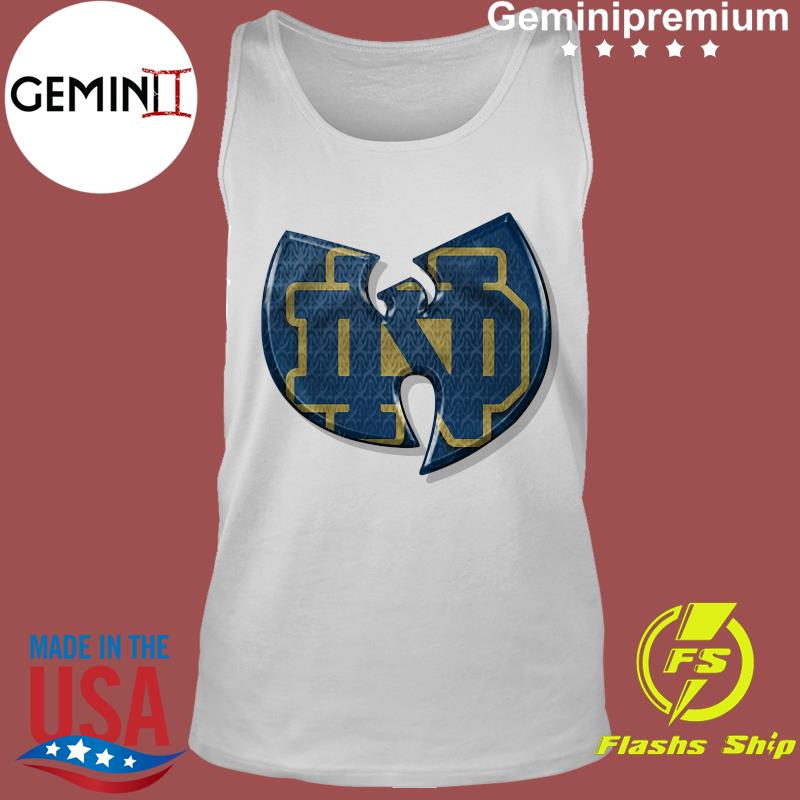 Wu Tang Notre Dame Fighting Irish Shirt Tank Top