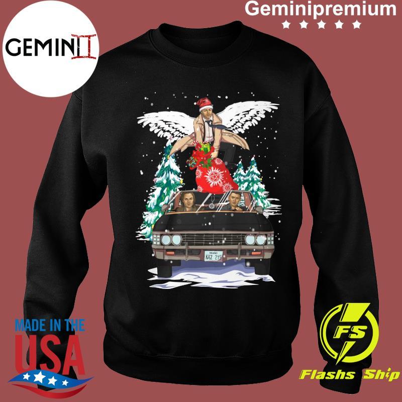 Supernatural Tv Kaz 2y5 Gift Christmas Tree Sweatshirt